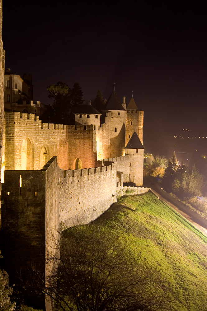 Medieval Castle by night (3)
