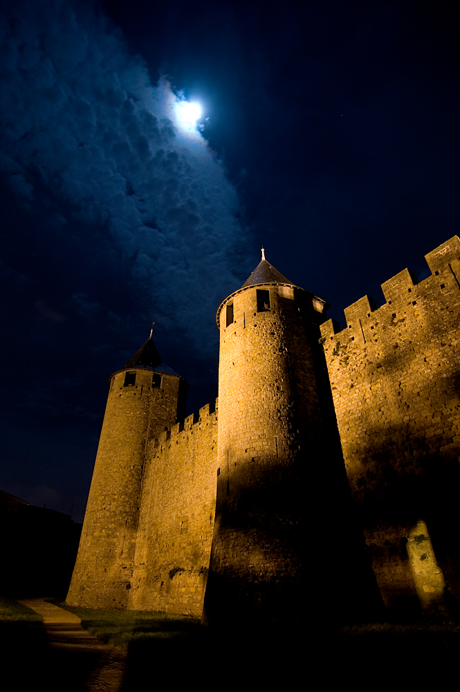 Medieval Castle by night